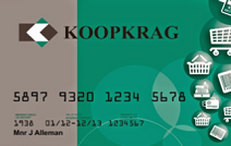 Koop Krag Rewards Card