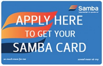 Samba Rewards Card